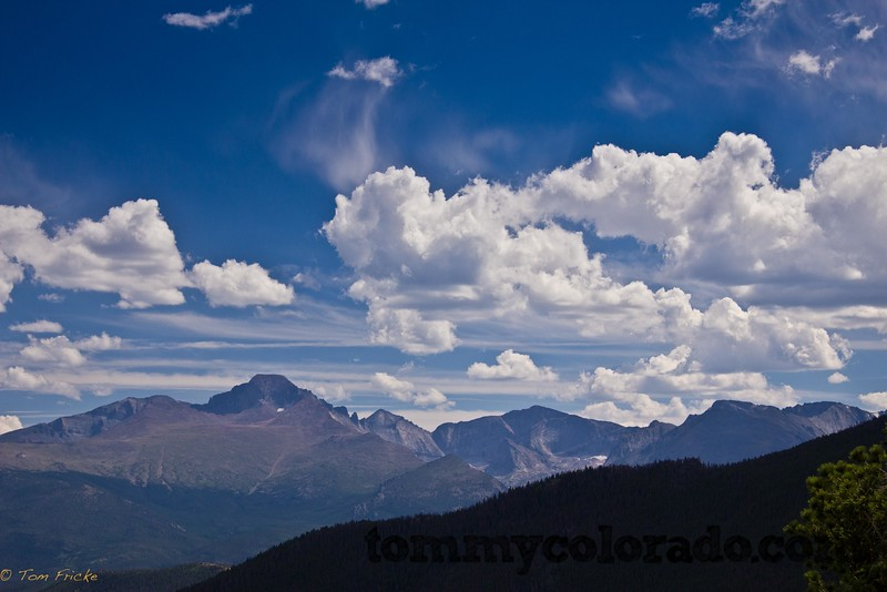 View of Long's Peak from Rocky Mountain National Park