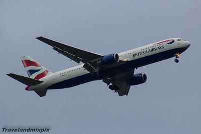 Boeing 767's of British Airways