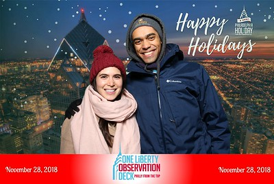 The City of Philadelphia Official Philly Holiday Tree Lighting Celebration 11.28.18
