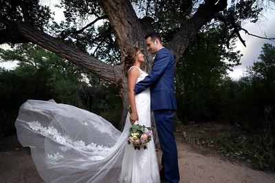 Pojoaque Dream Backyard New Mexico Wedding