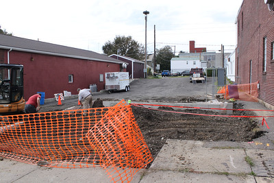 Constructing a Monument, McAdoo Fire Company, McAdoo (9-30-2011)