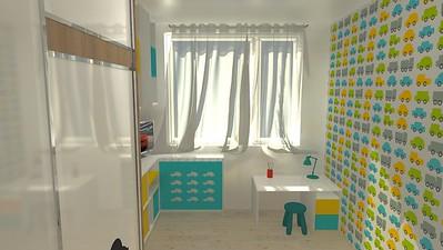 Dětský pokoj pro chlapečka