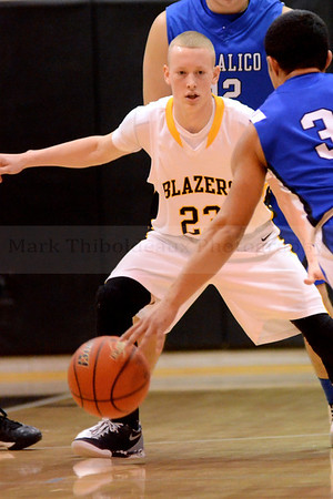 Lancaster Mennonite HS Boy's Varsity Basketball v. Coc 2.11.14 (League Quarters)