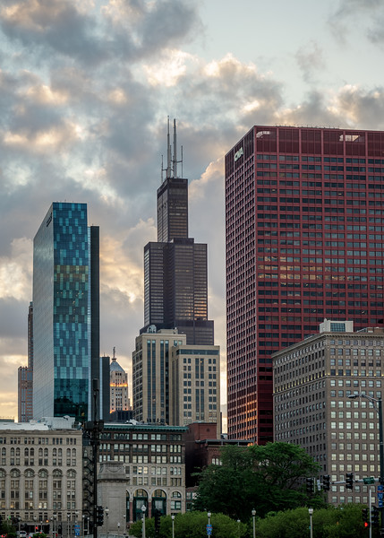 The tallest in Chicago