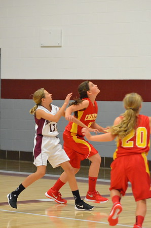 CMS Girls hoops vs Robinson October 5, 2015