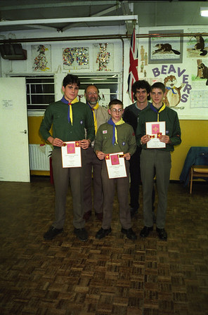 3rd West Wickham Chief Scouts