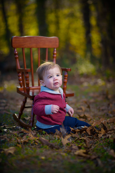 Jackson's 1 year portrait session