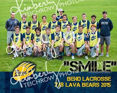 Bend 7-8 Lacrosse 2015