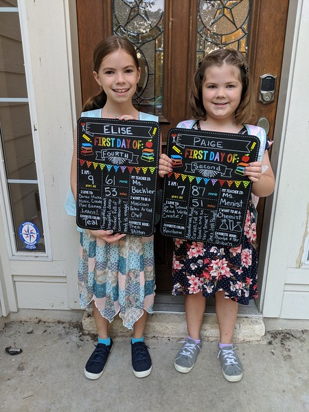 Elise & Paige | 4th grade & 2nd grade | Rutledge Elementary