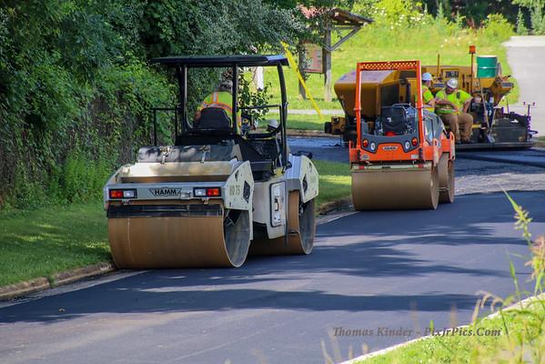 Access Road Repaving 7/16