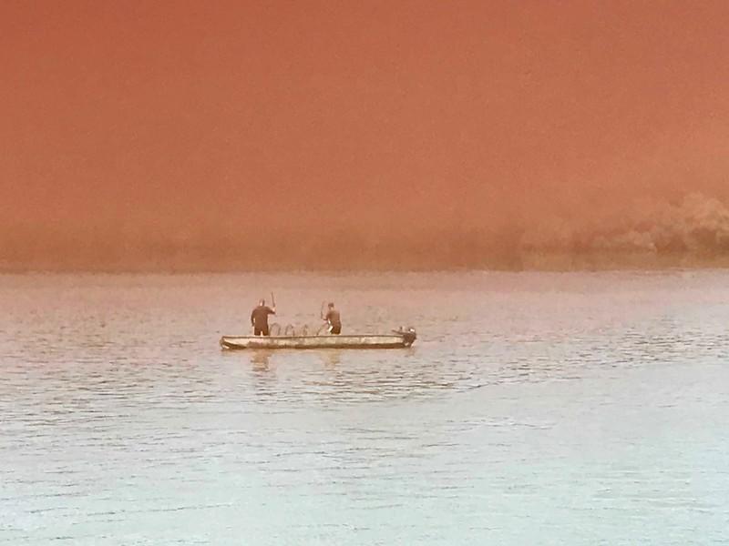 net fishing on the Danube