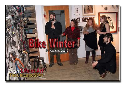 15 march 2013 Bike Winter art show