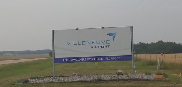 Villeneuve Airport Hangars & Air Show