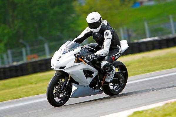#2 - White GSXR