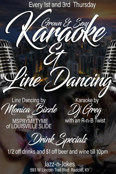 line dancing and karaoke.JPG