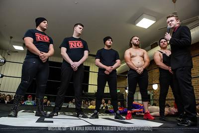 Wrestling Go! - New World Borderland 14.09.2019