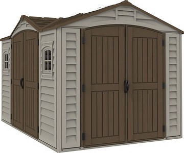 Apex Pro Taupe with brown roof
