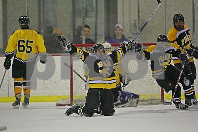2/27/2008 - Suffolk County High School Ice Hockey Playoffs @ RINX, Hauppague, NY