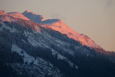 January 2011 - Alpenglow Cynthia Meyer, Tenakee Springs, Alaska