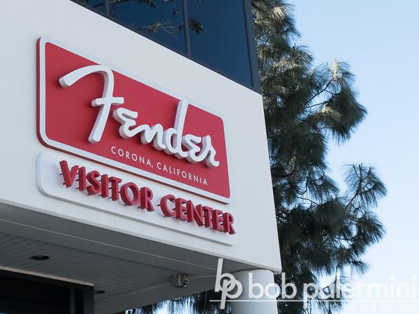 Fender Guitar Factory, Corona, California