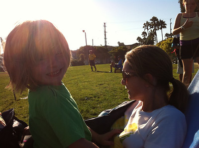 Katie's Soccer Game