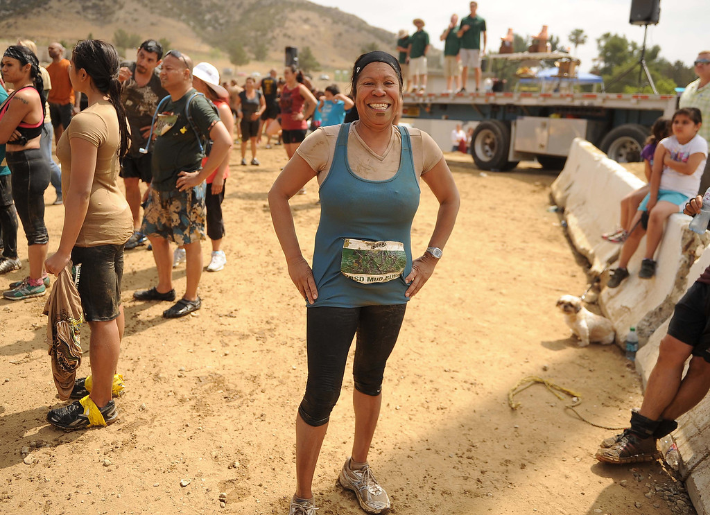 . The 9th Annual SBSD Mud Run was held on Saturday May 18, 2013 at the San Bernardino County Sheriff\'s Department Training Center in Devore. The 2013 SBSD Mud Run involves several obstacles, low-crawls, mud-pits, and hills. All proceeds raised during the event going to local charities throughout the Inland Empire.LaFonzo Carter/ Staff Photographer
