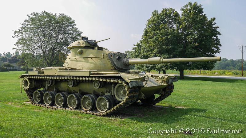 Howe Military School - Howe, IN - M60A0