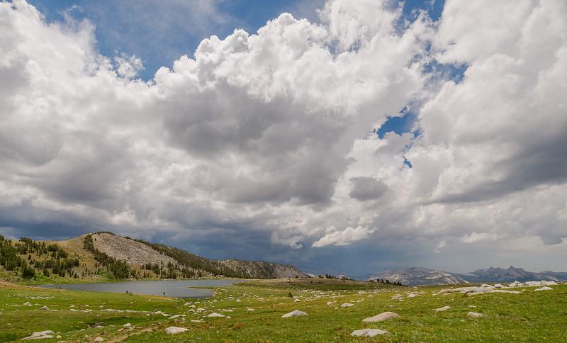 Middle Gaylor Lake, Yosemite National Park
