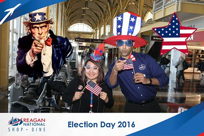 Reagan Shopping & Dining: Election Day 2016