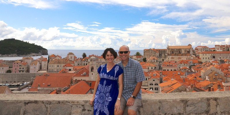 One of our more enjoyable experiences in Dubrovnik was walking the tops of the Old City Walls all the way around the entire city!