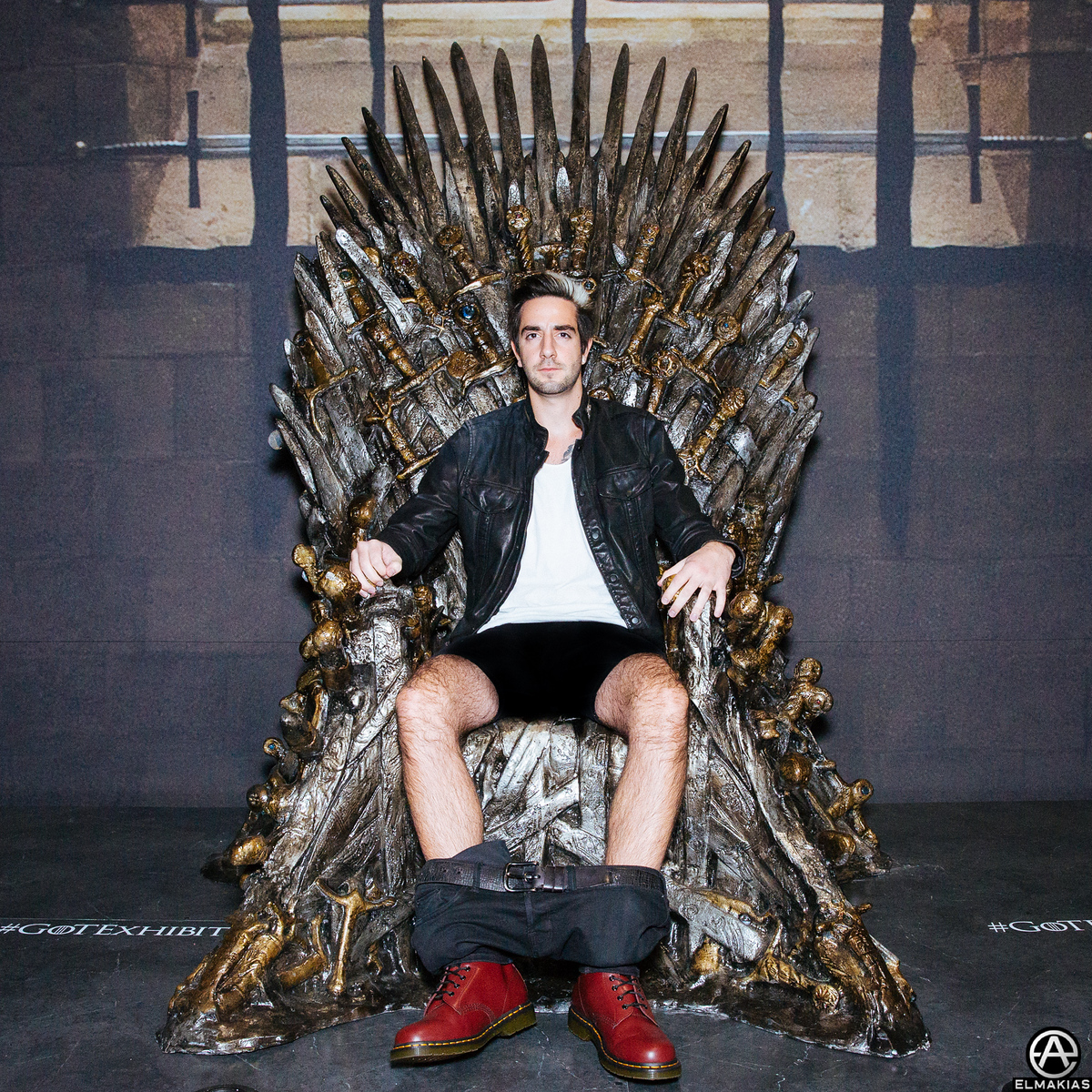 Jack at the Game Of Thrones