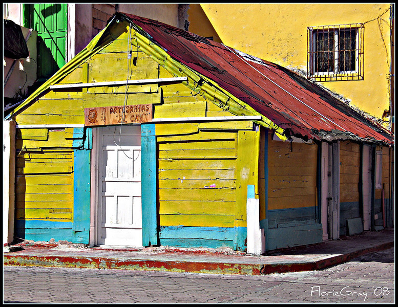 The Sunny Side of the Street  Isla Mujeres, Mexico