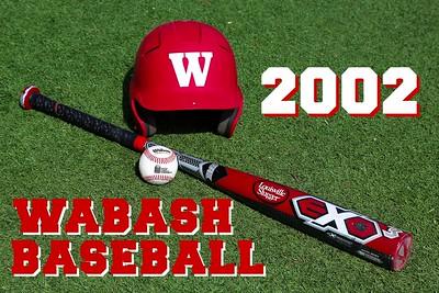 2002 Wabash Baseball