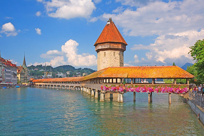 The Capellbrucke - Lucerne