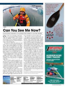 Adventure Kayak magazine Summer 2010
