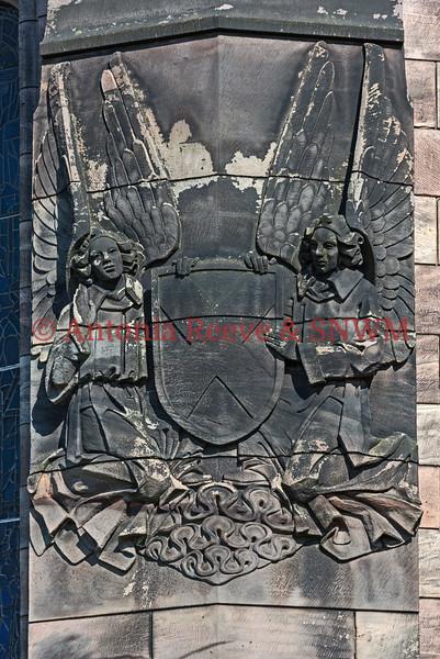 Arms , Shrine Exterior