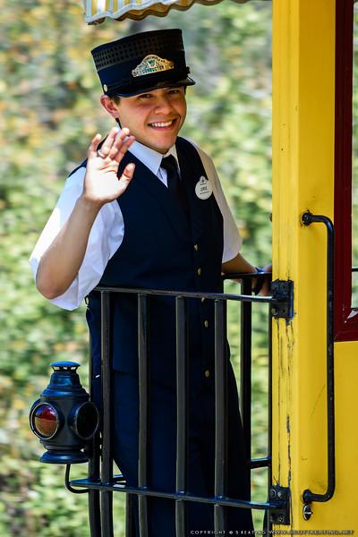 Steam Train Conductor