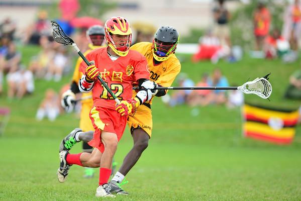 China vs Uganda, 7-18-14