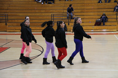 Officer Hip Hop at Basketball Game