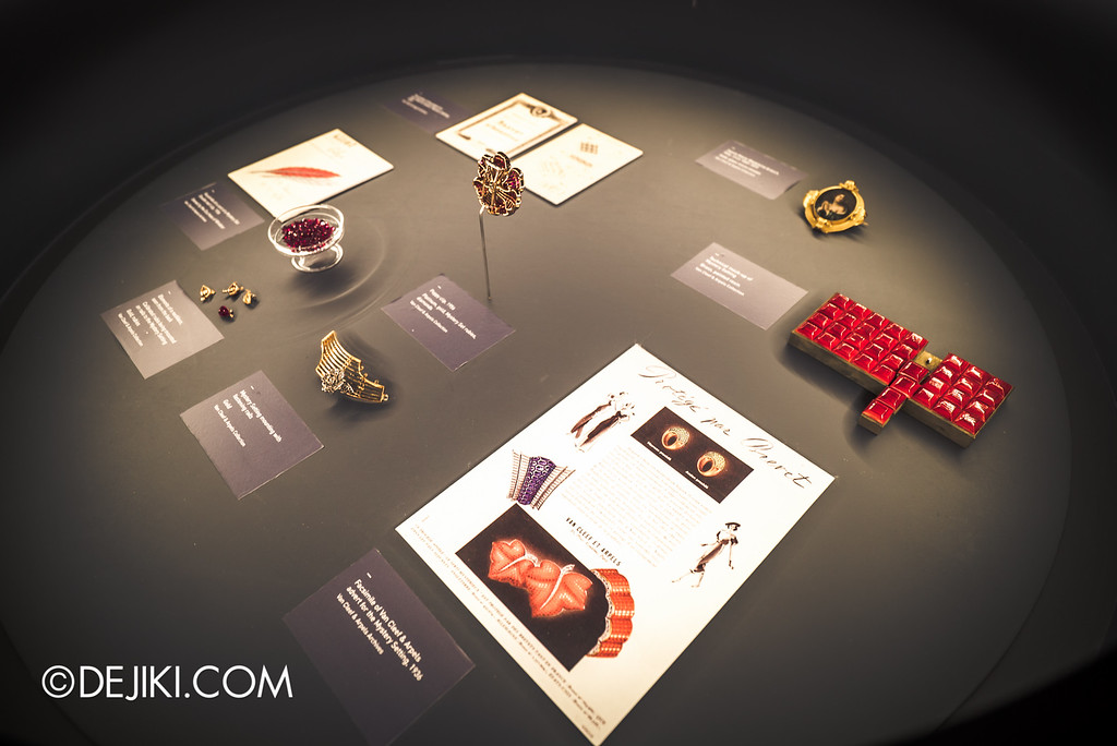 Van Cleef & Arpels: The Art and Science of Gems / Mystery setting display
