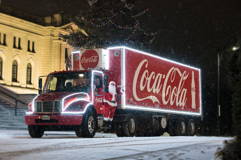 Coca-Cola Santa Tour Regina 2020