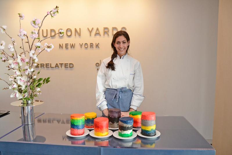 Stephanie Nass AVENUE MAGAZINE Presents the SALON DINNER & CONVERSATION about PUBLIC ART Featuring YVONNE FORCE VILLAREAL 10 Hudson Yards NYC, USA - 2017.04.06 Credit: Lukas Greyson