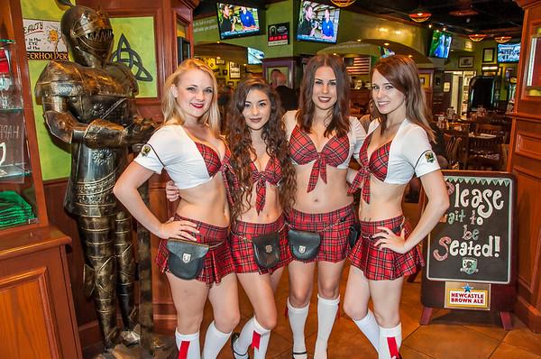 Orlando Predators:  Fan Appreciation Party @ Tilted Kilt 3-24-16