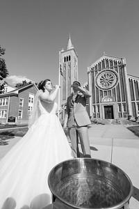 Limo Toast- Danielle & Andy Bruno Wedding Photography- Holy Trinity Westfield, MA/ Chez Josef Agawam, Mass.