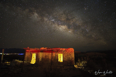 Terlingua Ghost Town & The Milky Way