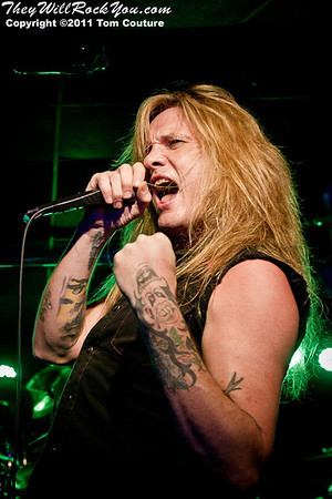 Sebastian Bach <br> November 12, 2011 <br> The Asylum - Portland, Maine <br> Photos by: Tom Couture