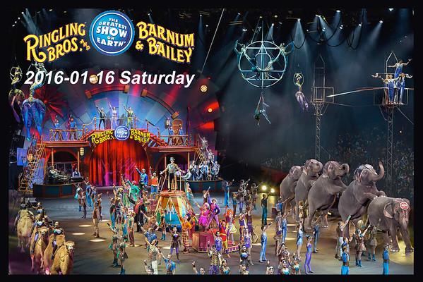 2016-01-16 (62 Photos) Ringling Bros. and Barnum & Bailey Circus