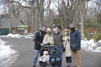 Reuben's 2nd birthday at Bronx Zoo