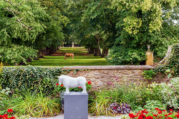 Hidcote Manor Garden -Lawrence Johnson's Garden of Rooms and Ivydene House B&B in Uckinghall