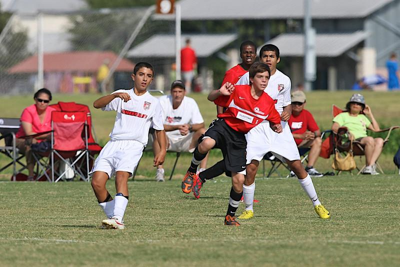 04-Sep-2010 vs Lonestars 96 White North